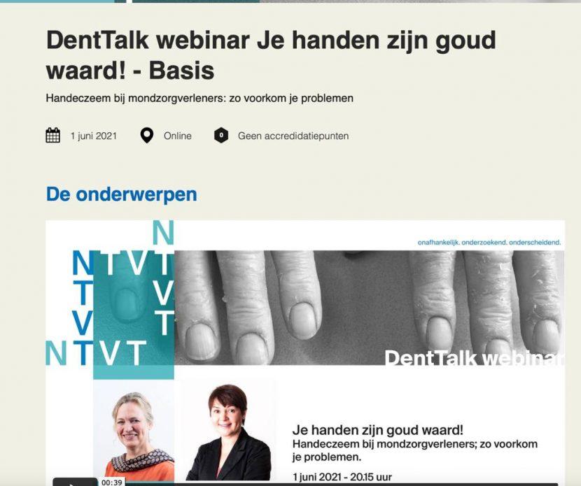 DentTalk webinar